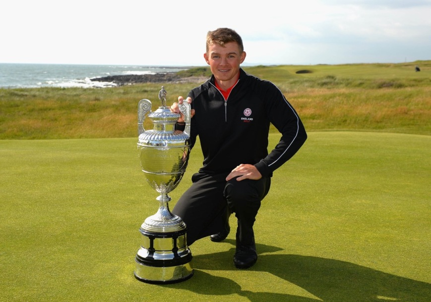 Scott Gregory Amateur Champion 2016