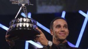 Lewis Hamilton SPOTY 2014