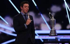 Rory McIlroy SPOTY 2014