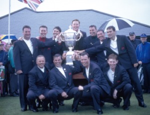 The Great Britain And Ireland Team Wins The Walker Cup