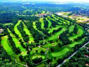 Olympia Fields NC Aerial