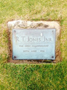 WC 2015 Bobby Jones Plaque