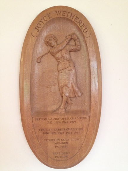 JW Tiverton Wood Plaque