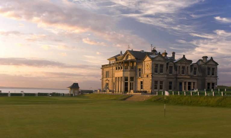 St Andrews Clubhouse