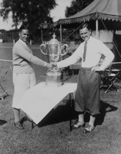 Bobby Jones and WT Walker Cup 1928 in Chicago