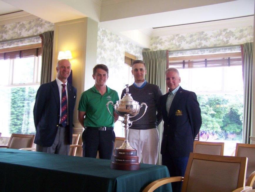 Arnold Palmer Cup 2016 - Matthias Schwab and Kieran Oates