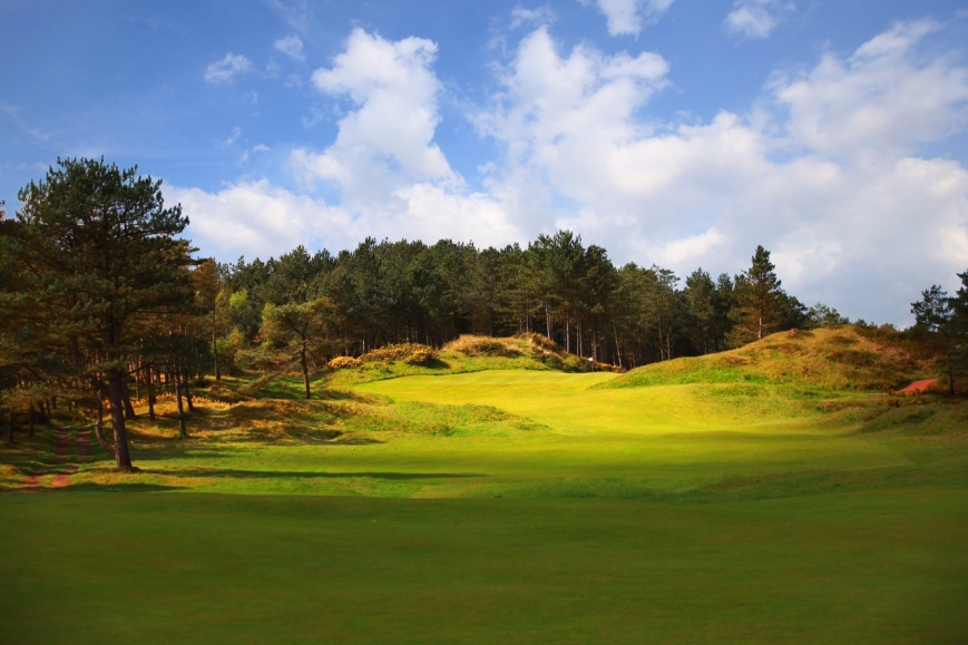 Formby GC 8th hole