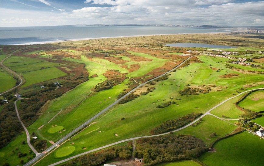 Pyle & Kenfig Golf CourseAerial South Golf Activities & Sports