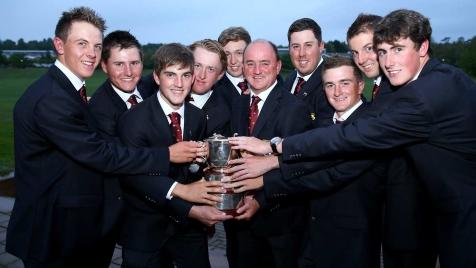 St Andrews Trophy GBI Team 2014